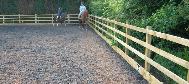 hoefslag, paardrijden
