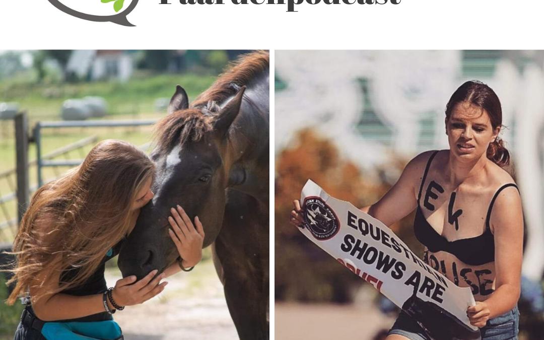#30 Moeten we stoppen met paardrijden? – 'EK-streaker' Amber