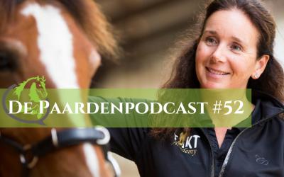 #52 Over revalidatie, trainbaarheid en basisvoorwaarden voor paarden houden – Mireille den Hoed