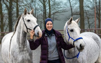 Harmonie tussen paard en ruiter, een gesprek met Romy Huisman