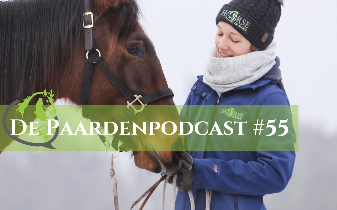 #55 Paarden in extreme kou – 10 vragen beantwoord – Rianne Dekker
