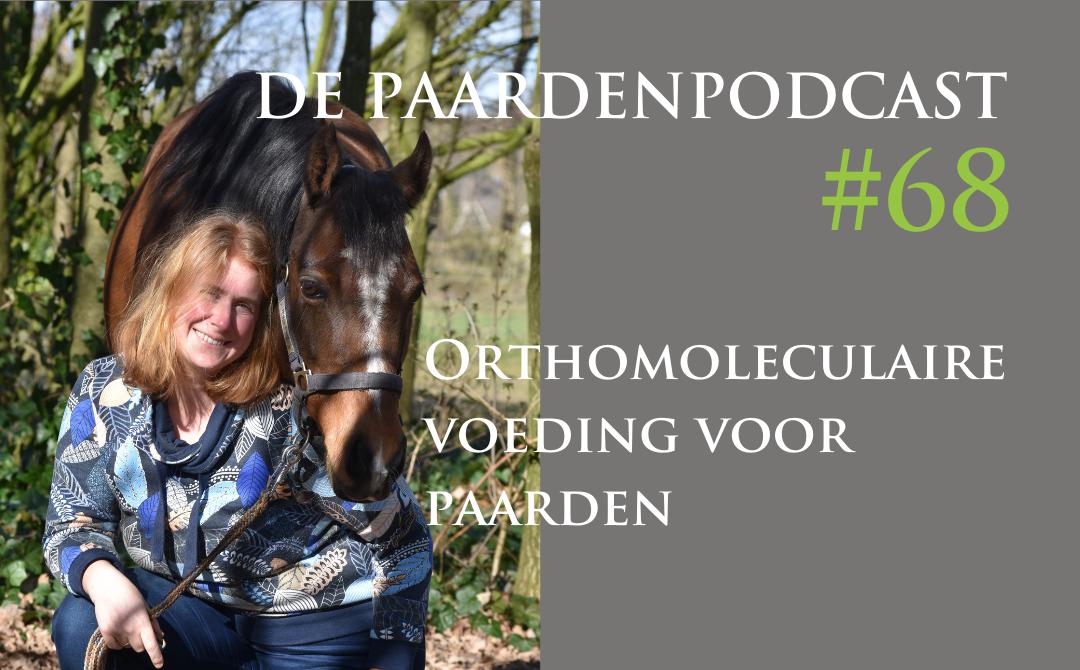 #68 Voer je paard gezond met orthomoleculair voedingsadvies – Ryanne den Besten