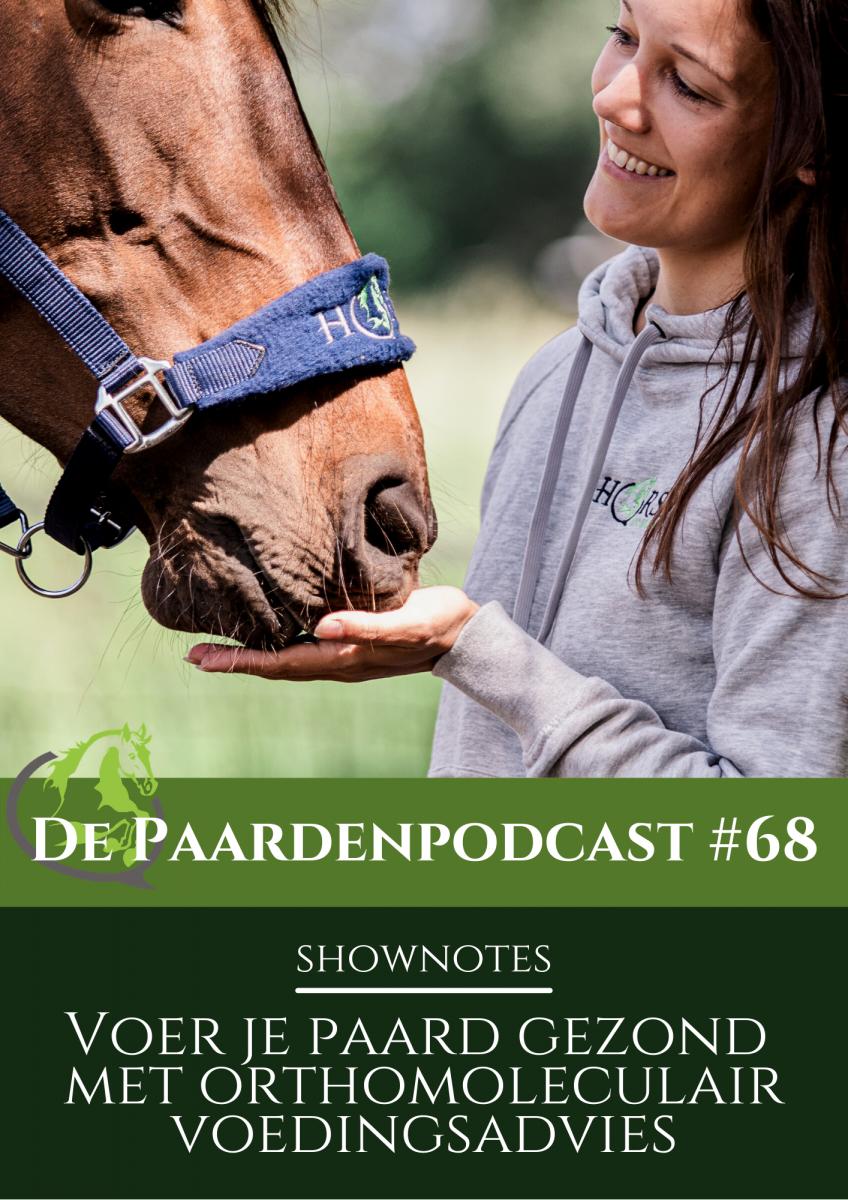 orthomoleculaire voeding voor paarden, paardenpodcast