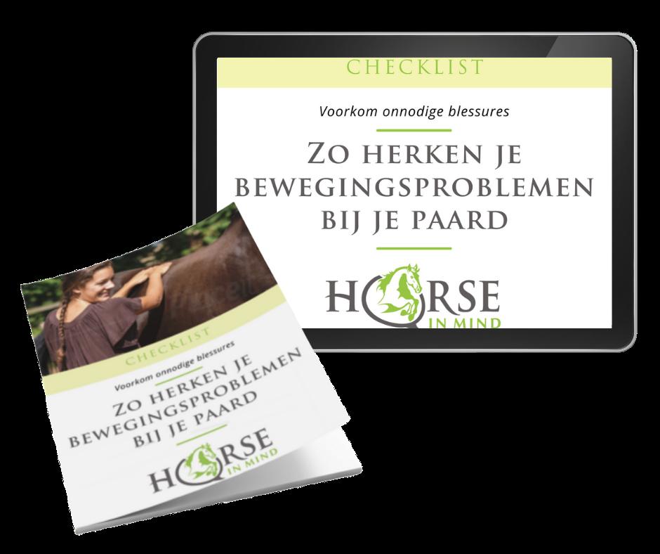 bewegingsproblemen herkennen paard