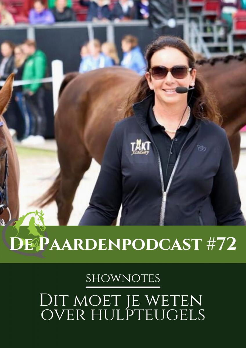 podcast hulpteugels paard