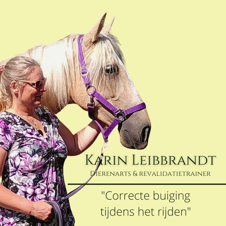 Karin Leibbrandt, paardentraining seminar