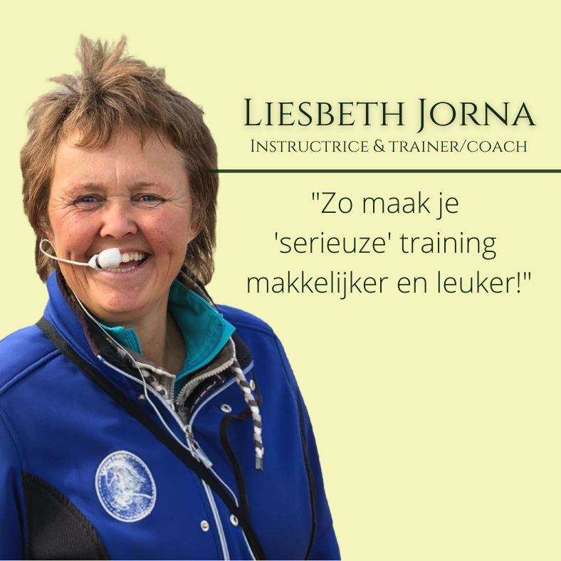 Liesbeth Jorna, paardentraining seminar