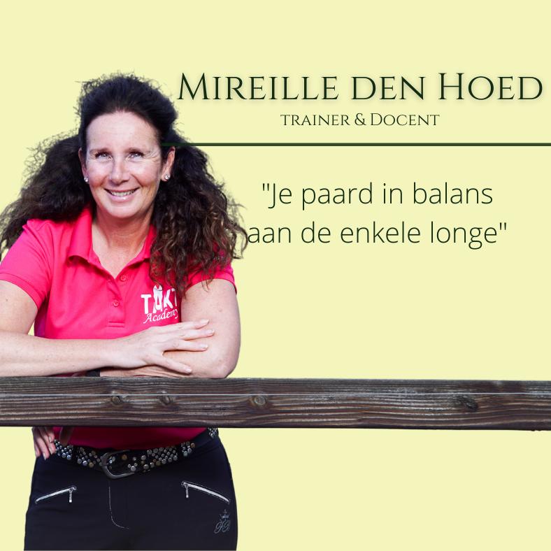 Mireille den Hoed, paardentraining seminar